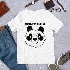 Polo Personalizado - Dont Be a Panda