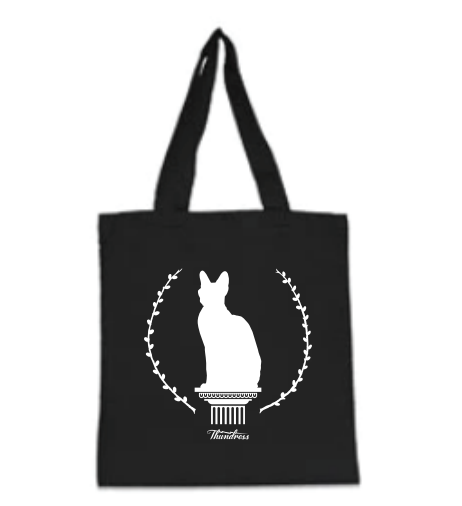 Pussy on a Pedestal Tote Bag