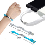 New Bracelet USB Charging Cable Micro Type C Plus iPhone XS Max XR X 7 8 6 Android USB