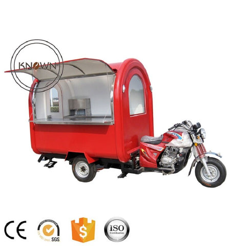 Food Truck Electric high quality commercial  ice cream or food or Coffee truck trailer cart