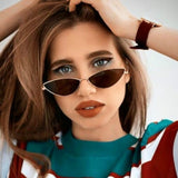 2020 Sunglasses Women Luxury Cat eye Design New Vintage Fashion lady Eyewear
