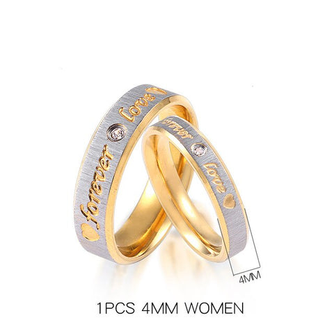Customized Rings Men Women His & Her