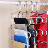 Trouser rack stainless steel multi-layer  trouser hanger