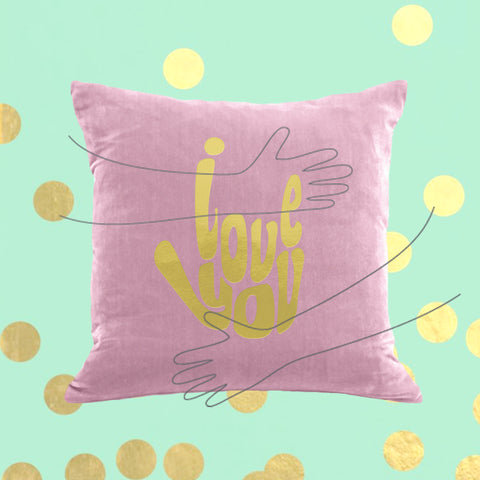Sign Language Peace Pillow