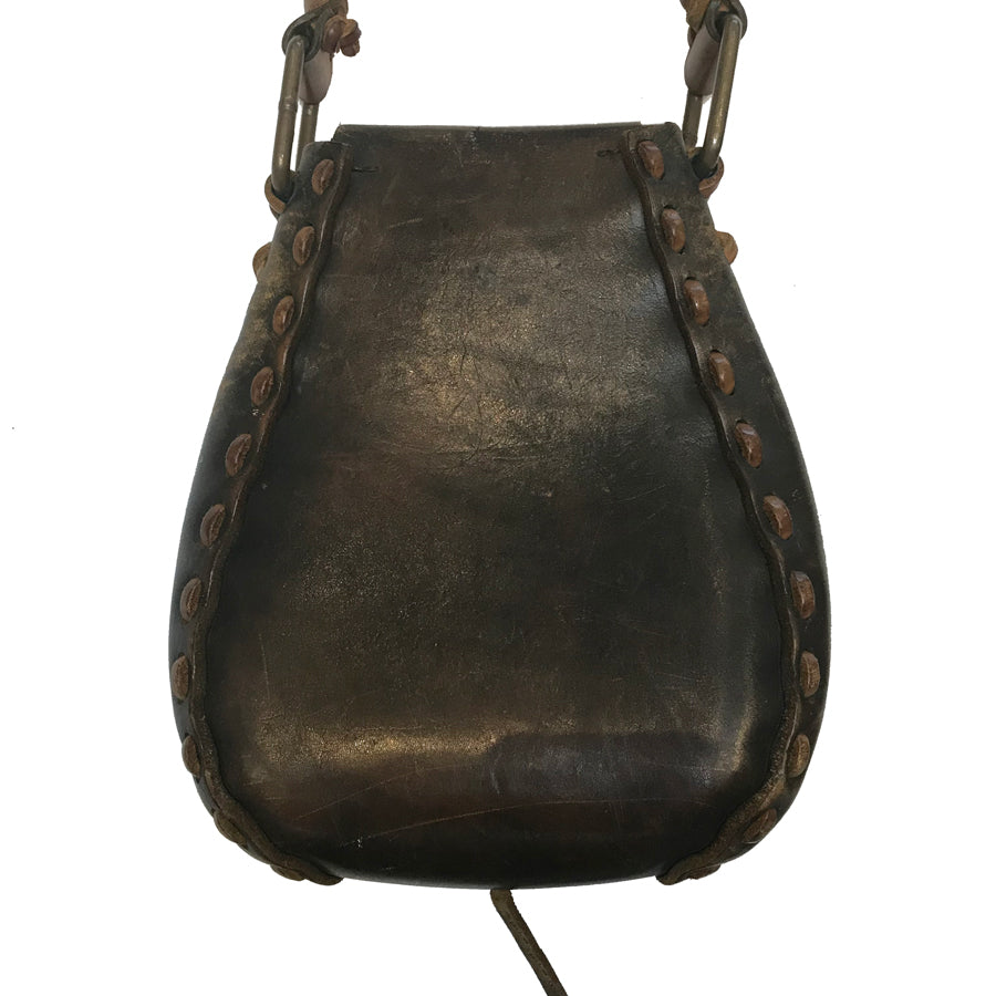 70s Handmade Leather Bag