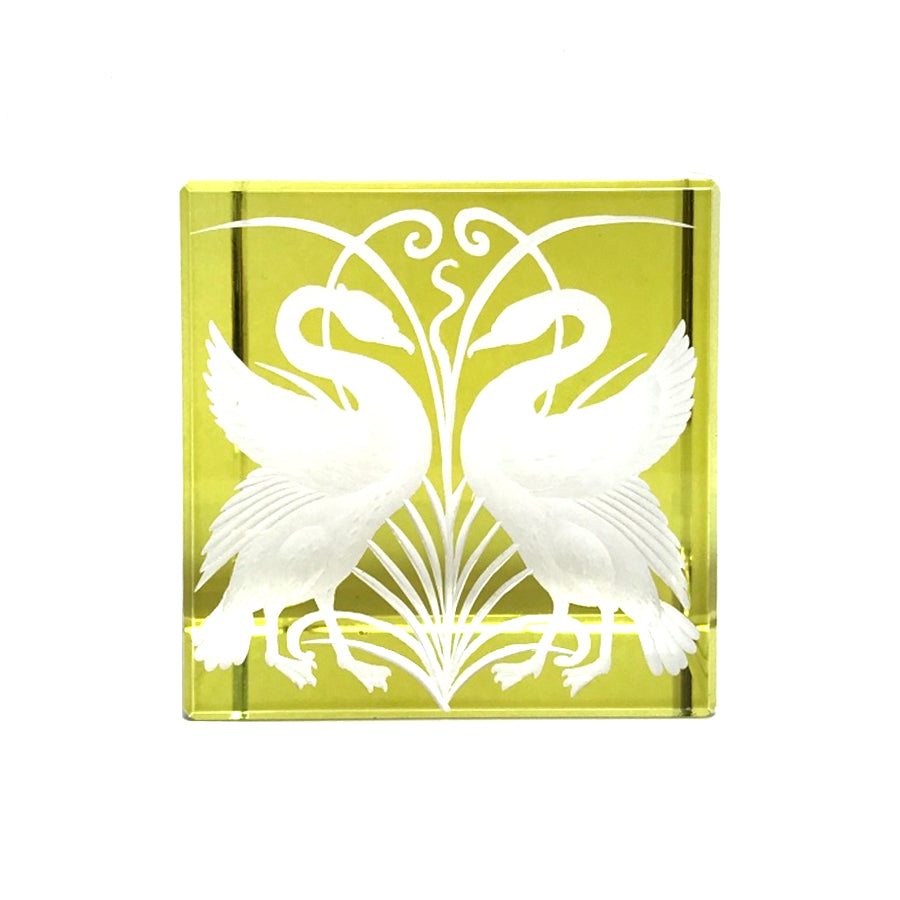 Swan Paperweight | Olive