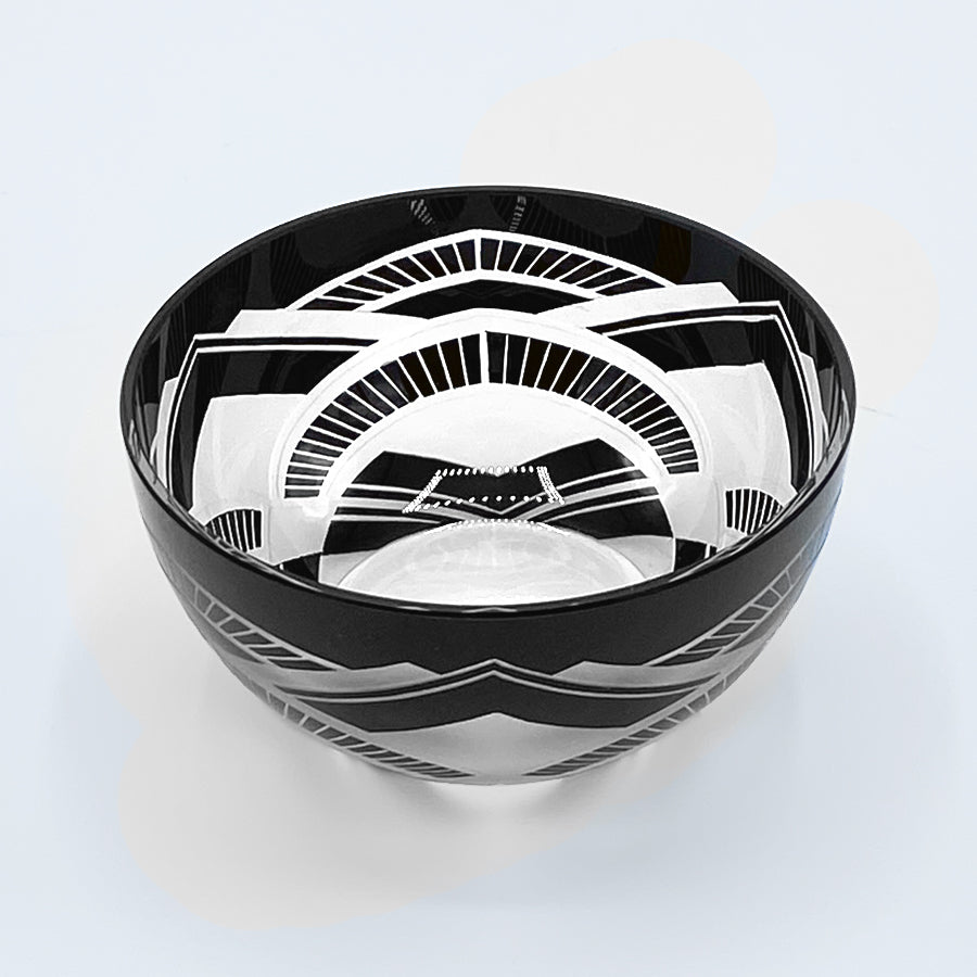 Deco Trinket Bowl | Black