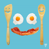 Happy Face Spatula & Spoon Cutlery Set