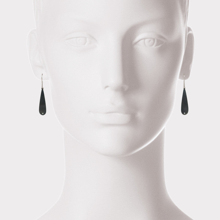 Elisa Bongfeldt Teardrop & Diamond Dot Earrings