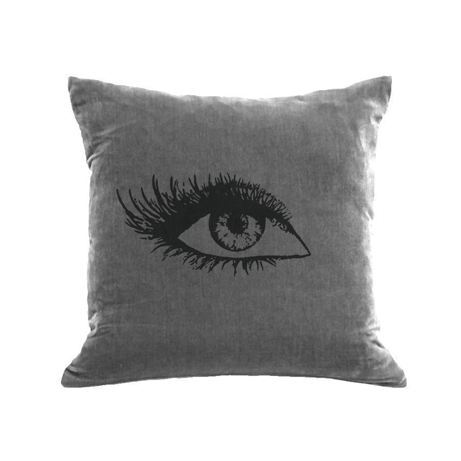 Eye Pillow (Right) - platinum / black *INK*