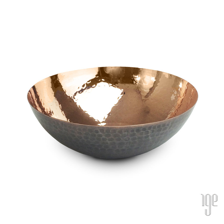 Handcrafted Hammered Copper Bowls