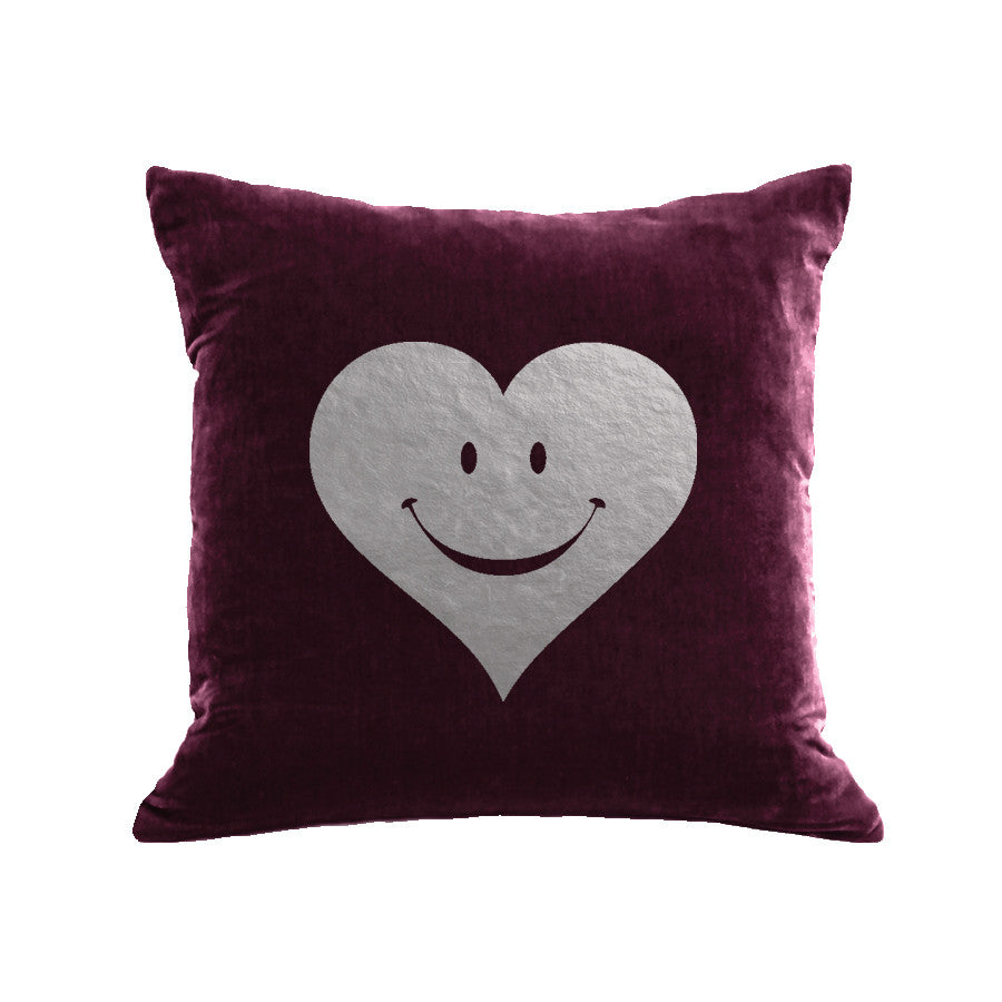 Happy Heart Pillow