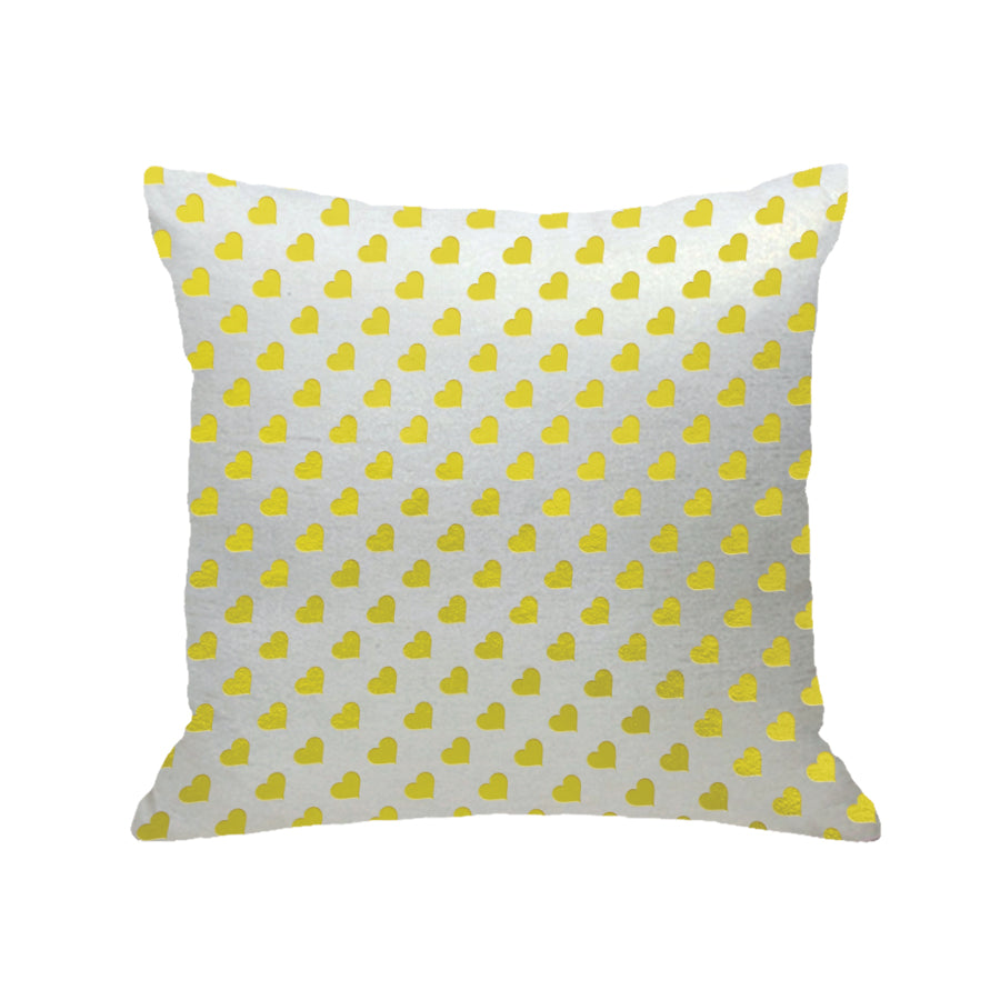 Heart Print Pillow