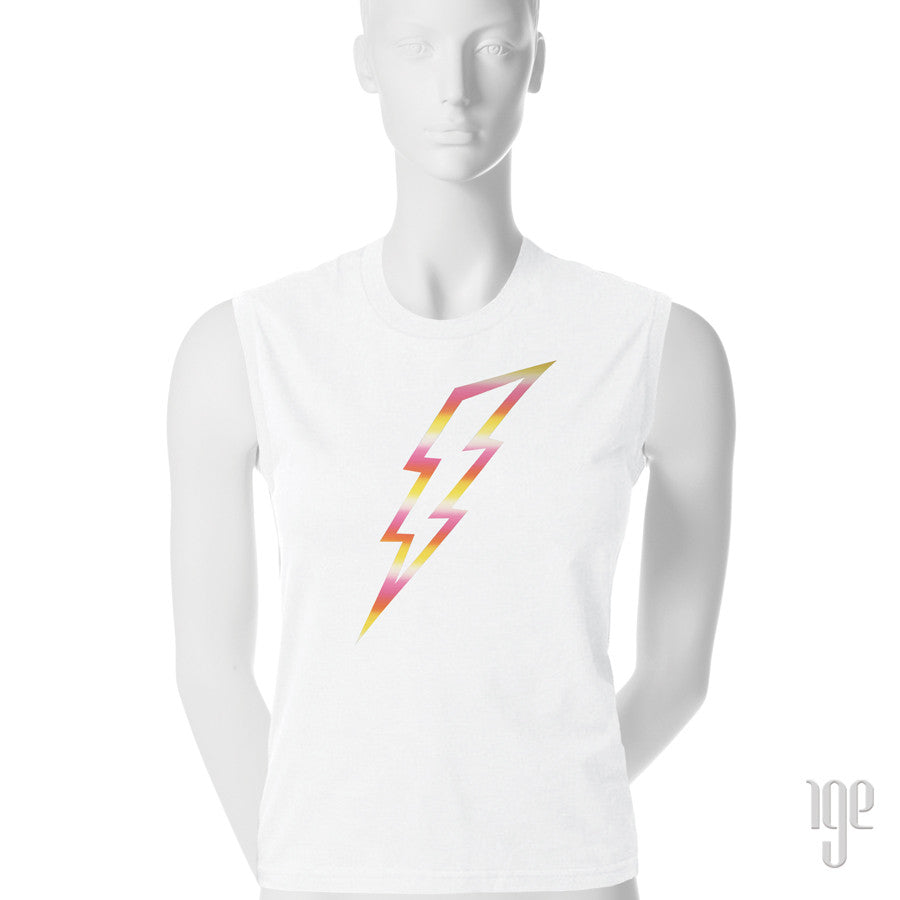 Lightning Bolt Muscle T-Shirt