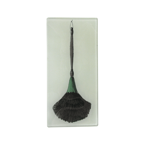 "Feather Duster Tray - 7 x 3.5"" Rectangle"
