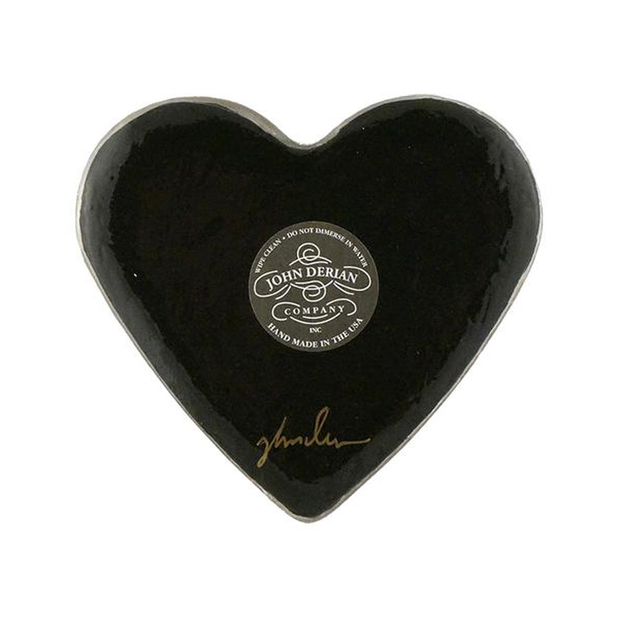 Agrostemma Heart Charm Paperweight