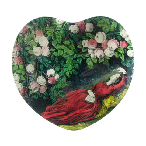 Sleeping Beauty Heart Shape Dish