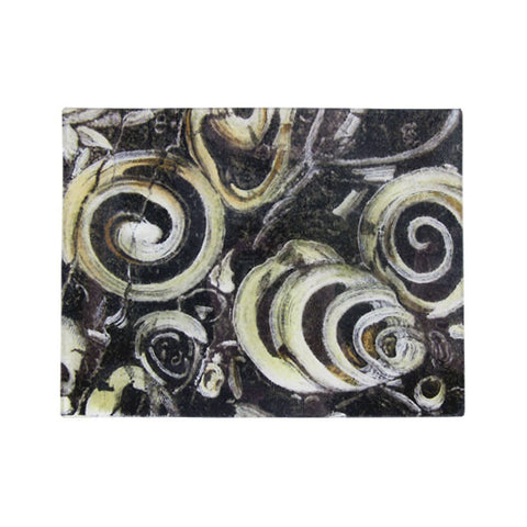 "Swirled Stone Tray - 8 x 10.5""  Rectangle"