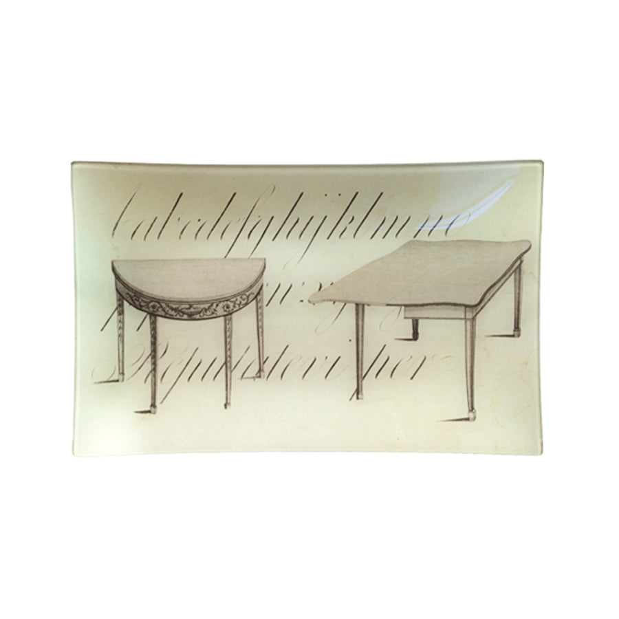 John Derian Two Tables Tray