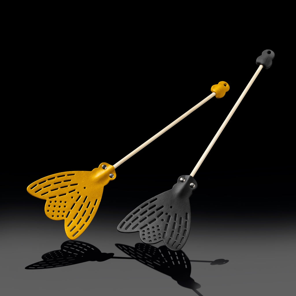 Leather Fly Swatter | Natural