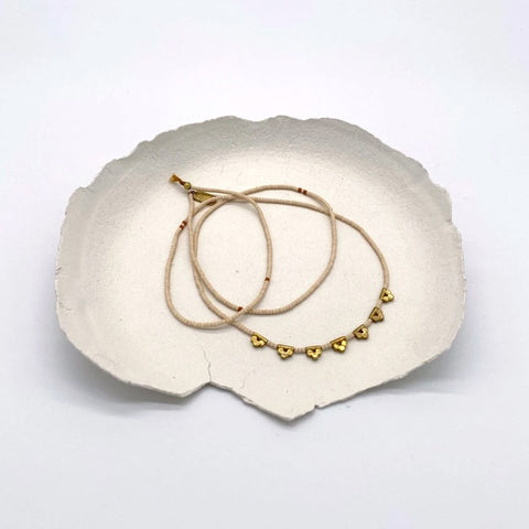 Lucky Loop Beaded Necklace