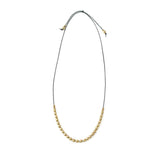 Marisa Mason Brass Borro Bead Necklace