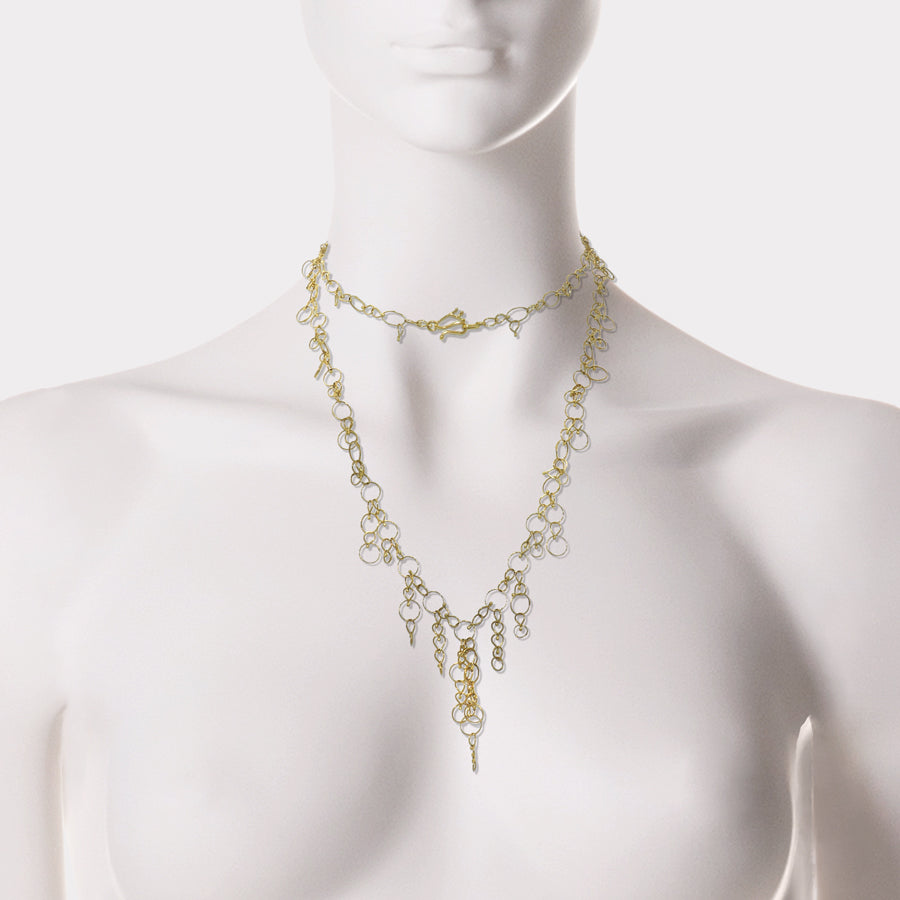 Melissa McClure Waterfall Necklace