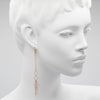 Melissa McClure Hoop Chain Shoulder Duster Earrings