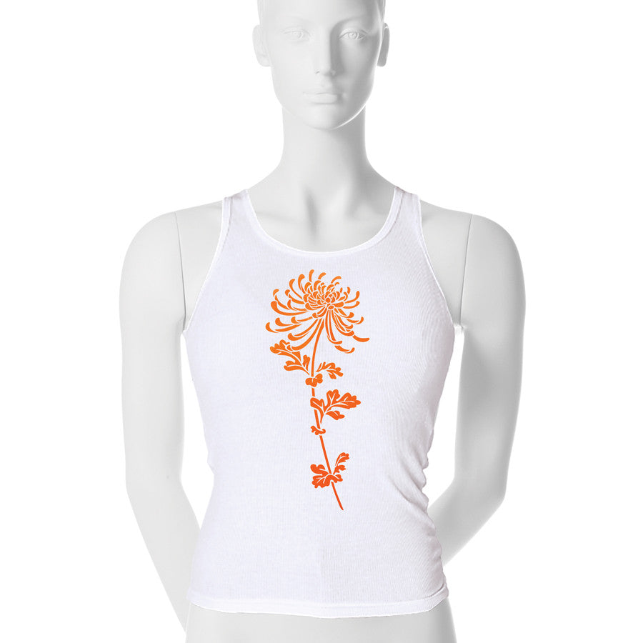 Flocked Mum Tank Top