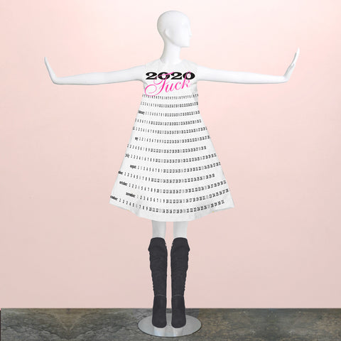 Party Girl: Paper Champagne Dress