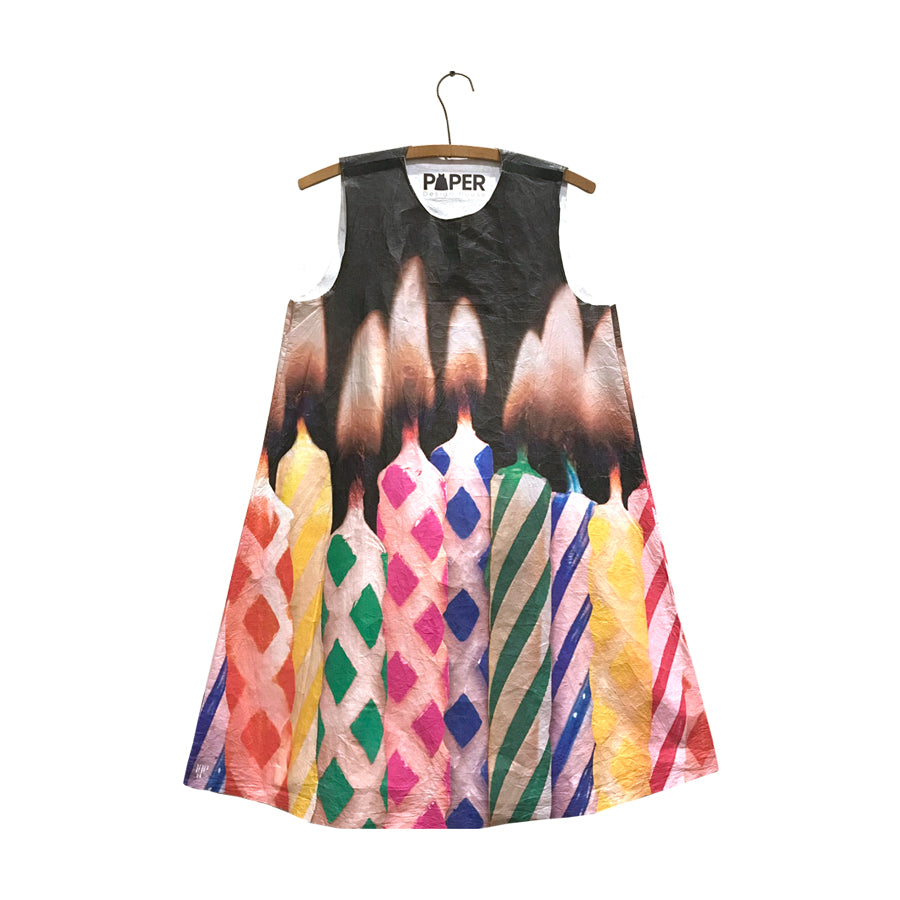 Birthday Girl: Paper Birthday Candle Dress
