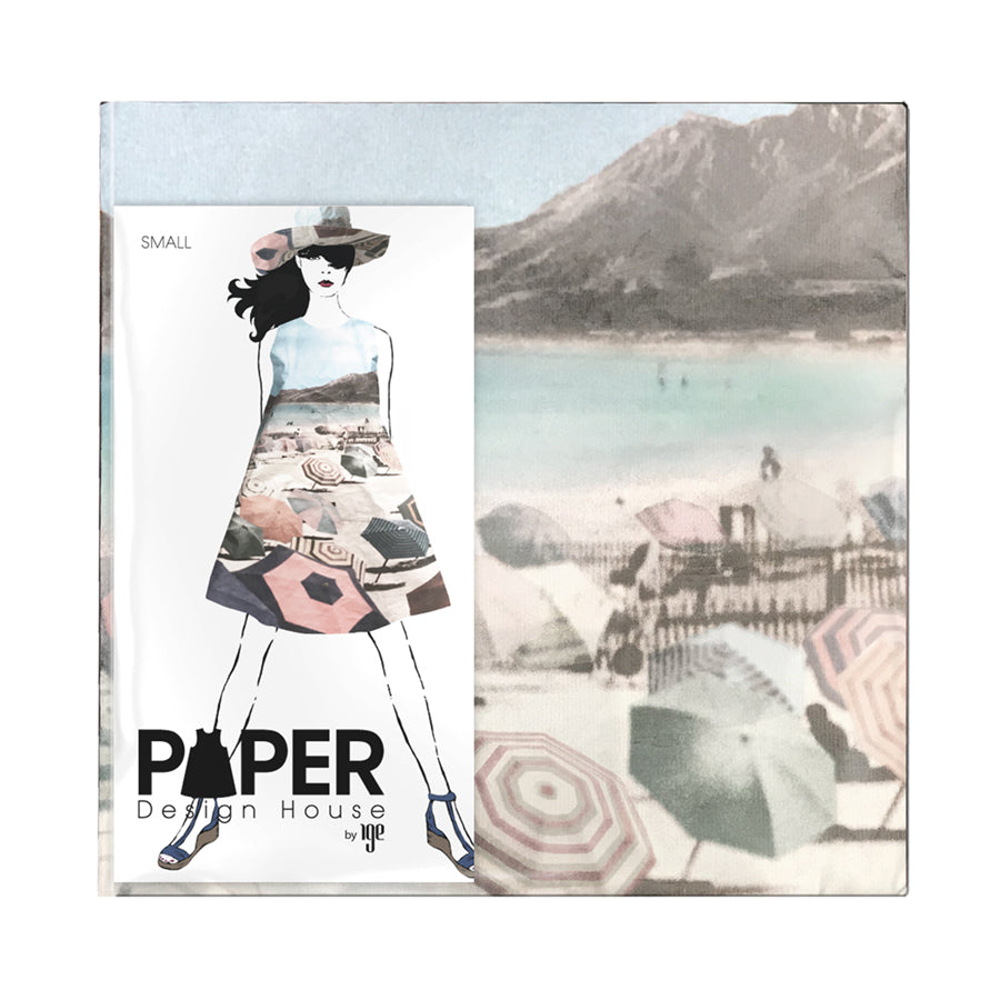 By the Sea: Paper Beach Scene (Preorders & will ship by March 30th)