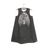 Naked Heart Skeleton Dress