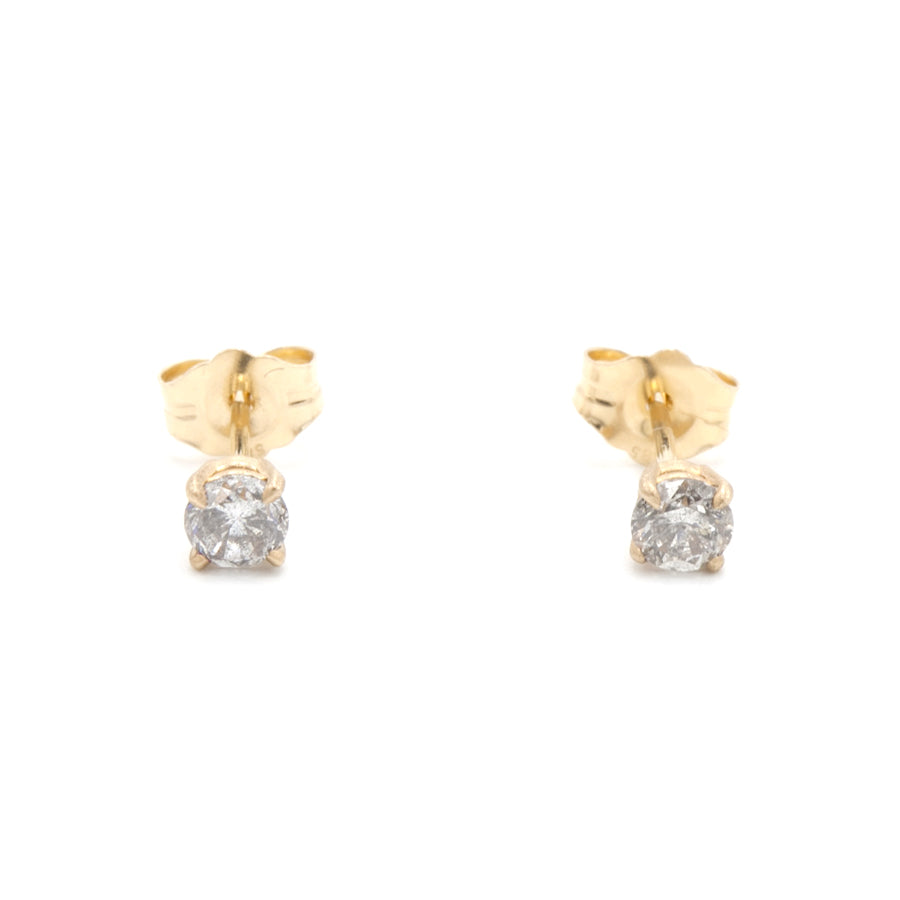 Petite Baleine | Bright Sparkle Diamond Stud Earrings