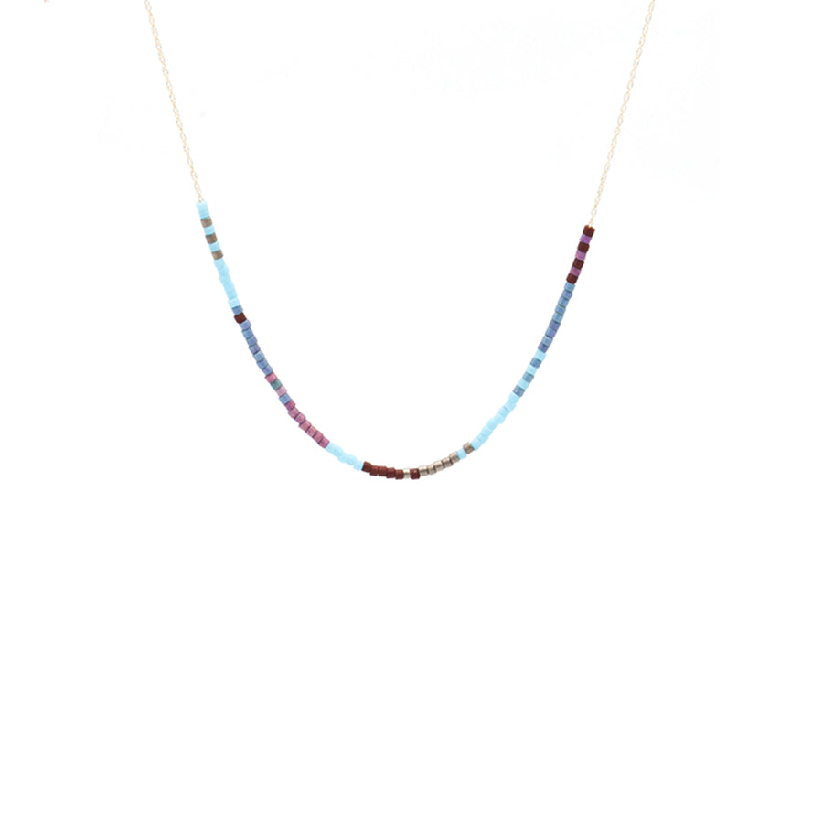 Petite Baleine | Japanese Microbeads & Gold Necklace