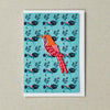 Wallpaper Bird 'Patch' Card