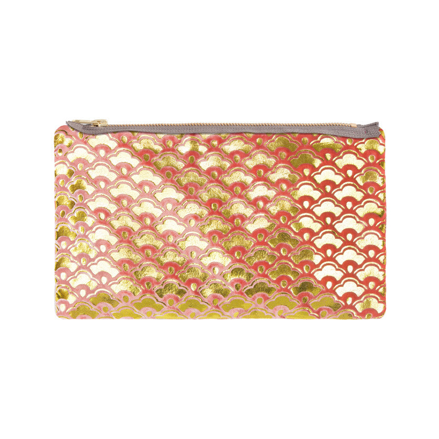 cherry blossom pouch