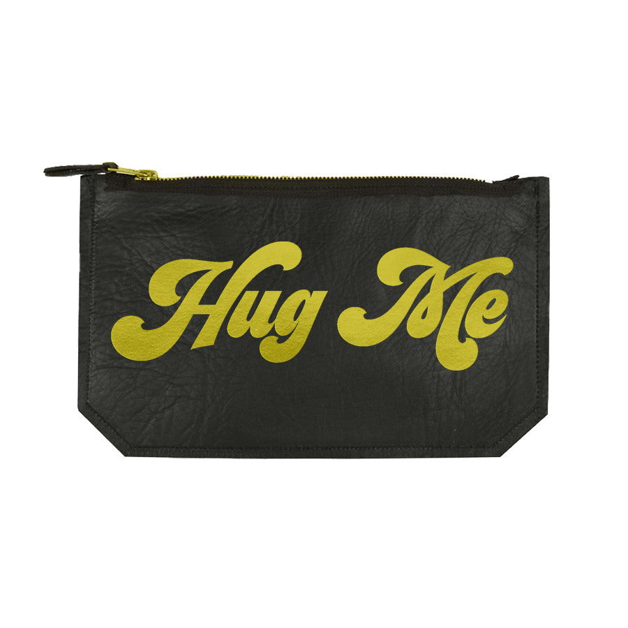 "Leather ""Hug Me"" Pouch"