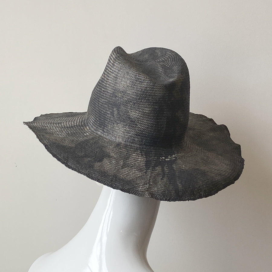 Norma Raw Straw Hat | Italy
