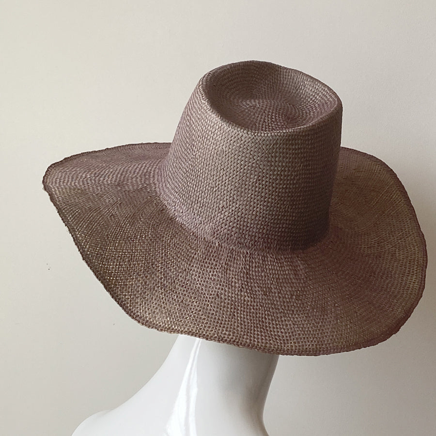 Nana Wide Brimmed Hat Lavender | Italy