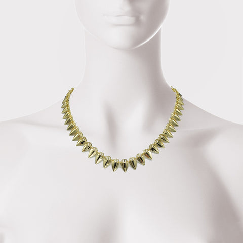 Grain Arrow Linked Necklace