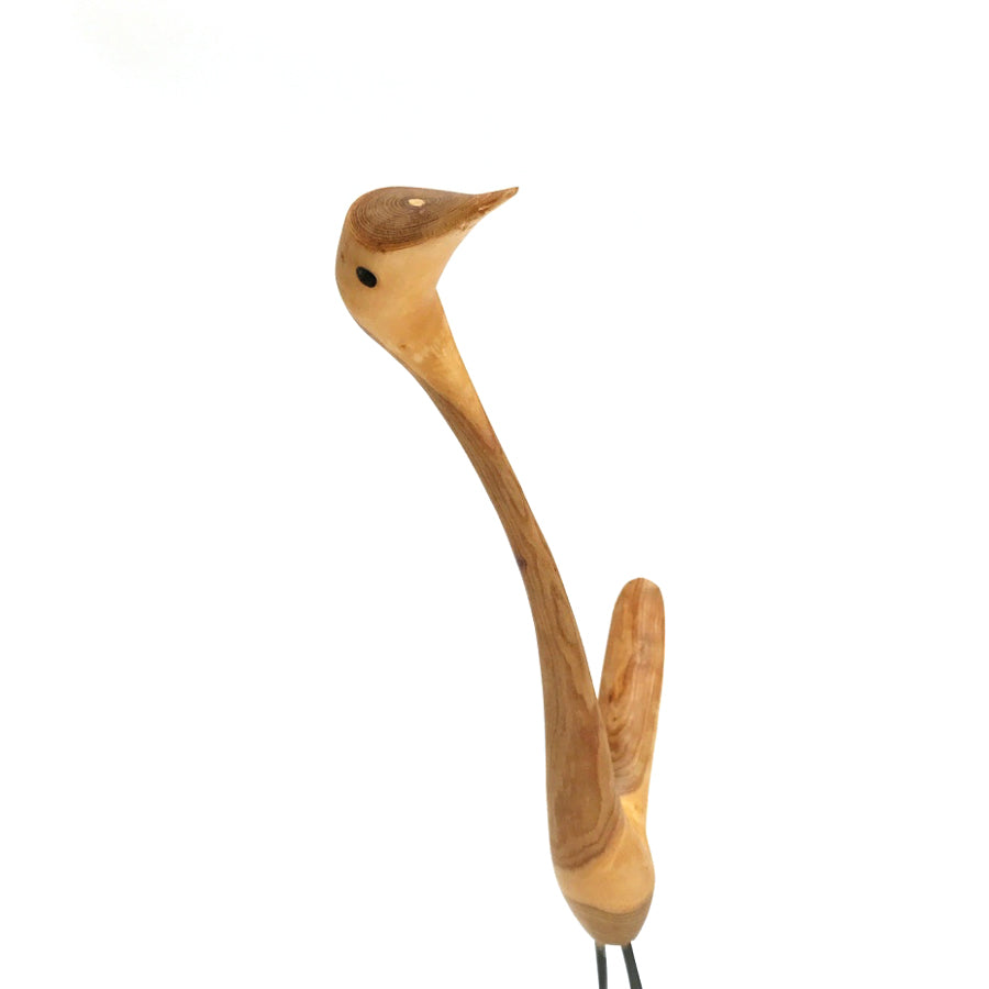 60-80s Hand Carved Rod Conklin Abstract Bird