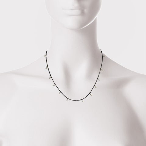 Small Point Three Tier Necklace
