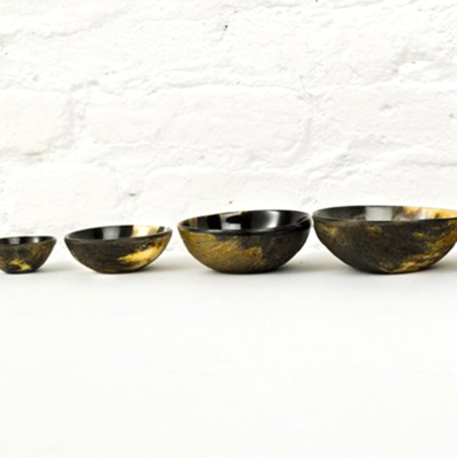 Horn Nesting Bowls - small (set of 4)
