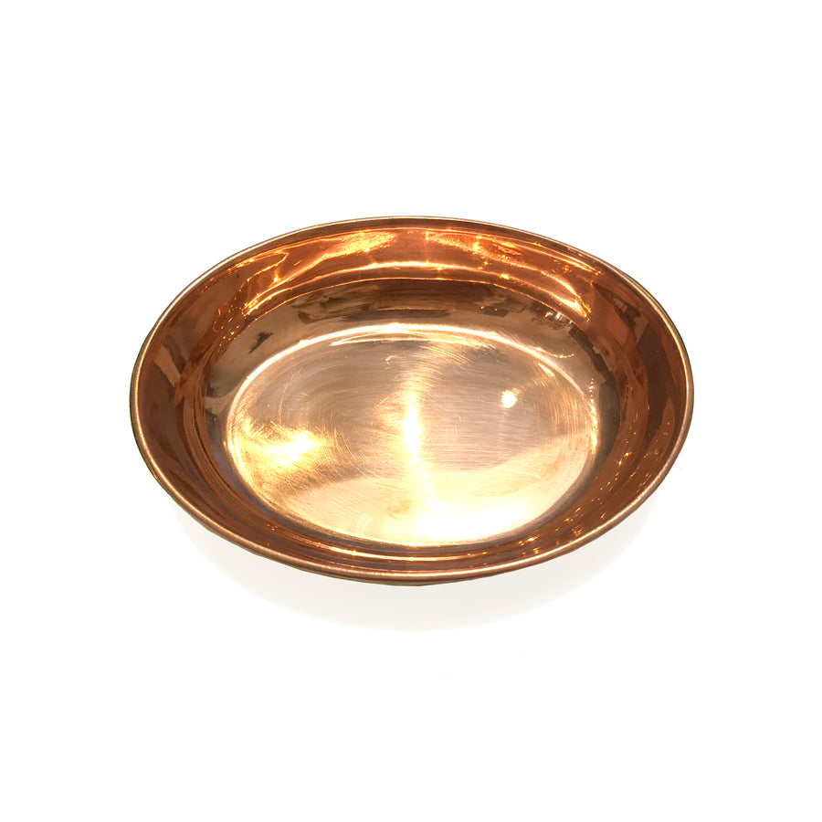 Metal Oval Mini Trays