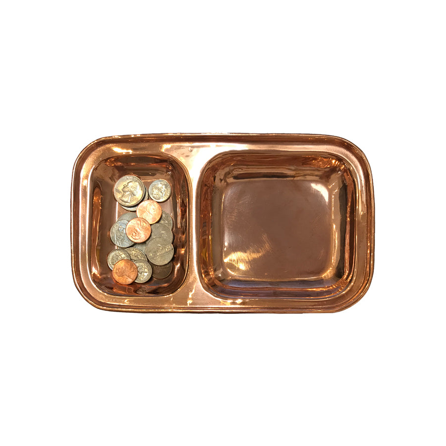 Copper Carry All Tray