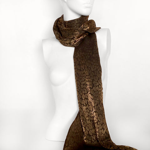 Striped Brocade Scarf