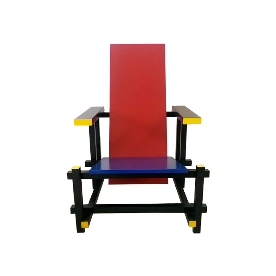 Vitra Miniature Red Blue Chair: Gerrit Rietveld