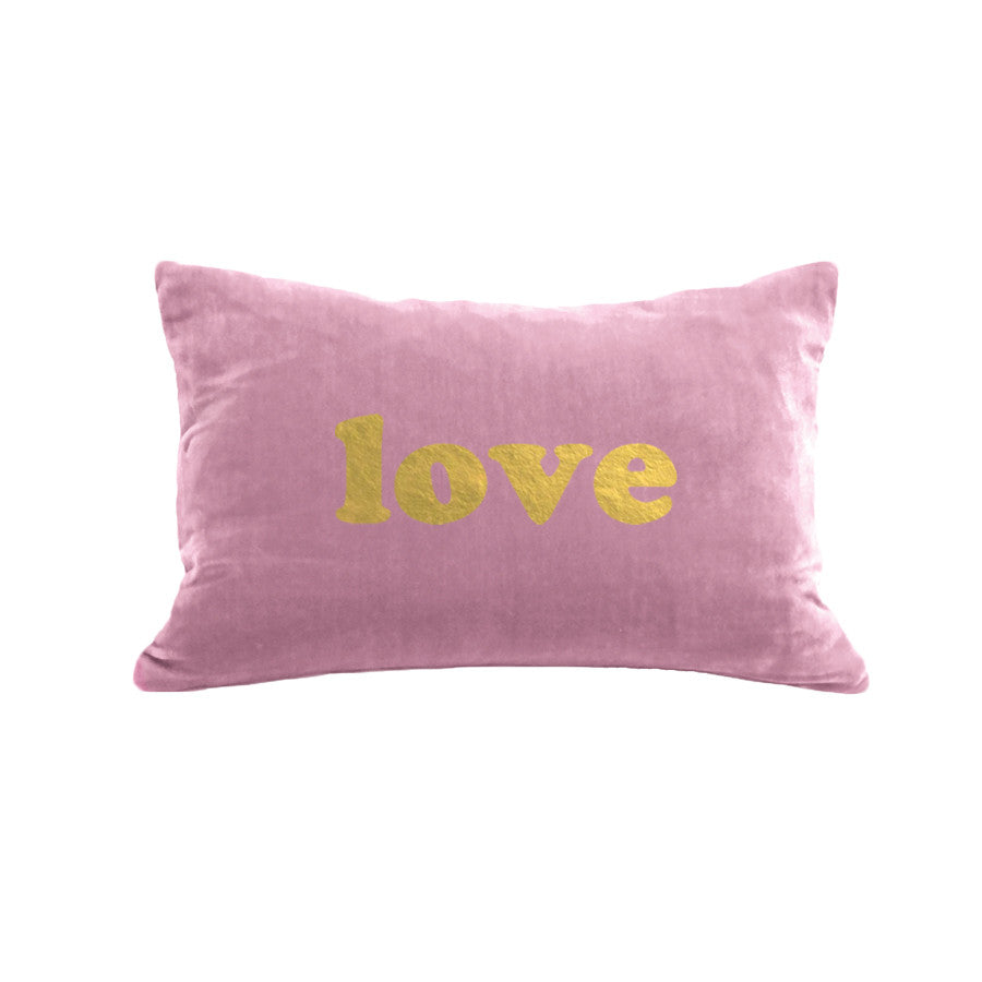 BOLD love  Pillow