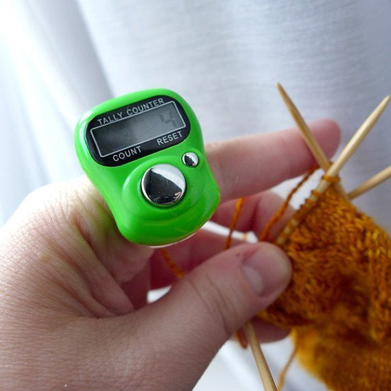Digital Row Counter For Knitting And Crocheting My Sparkles Store